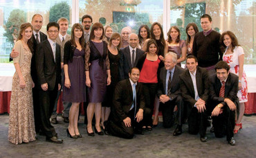 Graduates of the JKU Fellowship Program in 2010