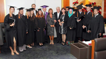 Graduates of the JKU Fellowship Program in 2011